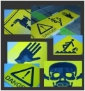 Oznakowania ostrzegawcze
