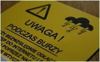 Tabliczki ostrzegawcze