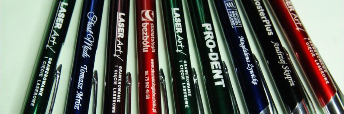 długopisy reklamowe grawerowane